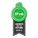 WORLD IPV6 LAUNCH is 6 June 2012 . The Future is Forever