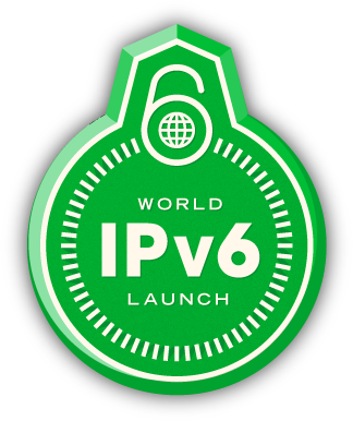 Logo World IPv6 Launch Day